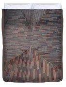 Escher Joins The Masons Duvet Cover