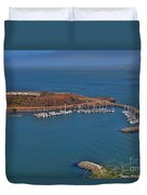 Escobedo Bay Duvet Cover