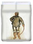 Eskimo Man Duvet Cover