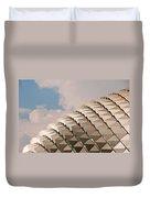 Esplanade Theatres Roof 01 Duvet Cover