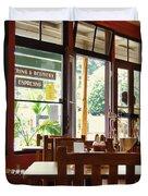 Espresso - Aloha Angel Cafe Duvet Cover
