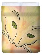 Essence Of Cat Duvet Cover
