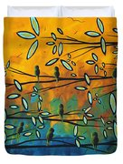 Essence Of Life By Madart Duvet Cover