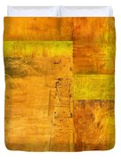 Essence Of Yellow Duvet Cover