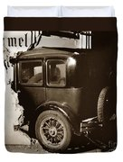 Essex Super Six In Carmel Dairy 1933 Duvet Cover