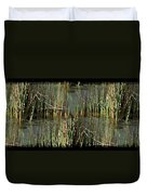 Estuaries Edge Duvet Cover