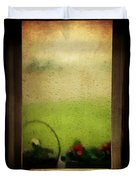 Et Peu A Peu Les Flots Respiraient Comme On Pleure Duvet Cover by Taylan Apukovska