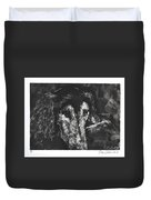 Etched In Time Duvet Cover