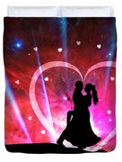 Eternal Love Duvet Cover by Phill Petrovic