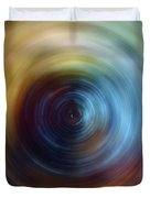 Eternal Spin Art Duvet Cover