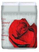Eternal Valentine Duvet Cover