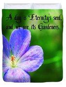 Eternity's Seed Duvet Cover