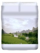 Ethereal China Duvet Cover