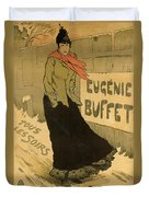 Eugenie Buffet Poster Duvet Cover