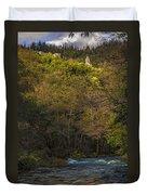 Eume River Galicia Spain Duvet Cover