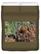 Eurasian Brown Bear 8 Duvet Cover