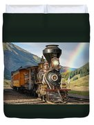 Eureka Rainbow Pan Duvet Cover