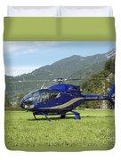 Eurocopter Ec130 Light Utility Duvet Cover