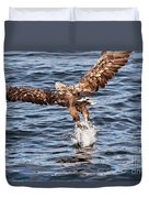 European Fishing Sea Eagle 2 Duvet Cover