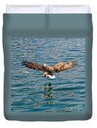 European Flying Sea Eagle 6 Duvet Cover