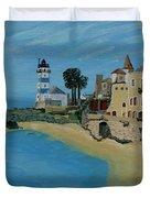 European Lighthouse Duvet Cover