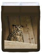European Owl Duvet Cover