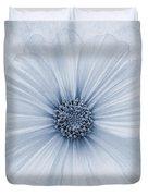 Evanescent Cyanotype Duvet Cover by John Edwards