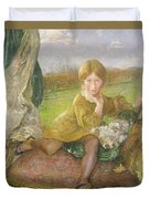 Evelyn Duvet Cover by Annie Louisa Swynnerton