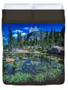 Evening At Cathedral Lakes Duvet Cover
