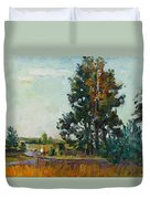 Evening At The Forest Edge Duvet Cover