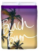 Evening Beach Bum Duvet Cover