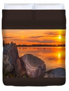 Evening Beauty Duvet Cover