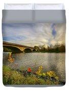 Evening Crossing Duvet Cover