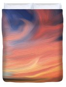 Evening Display Duvet Cover