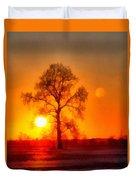 Evening Ember Sunset Duvet Cover
