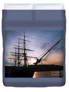 Evening Glow Duvet Cover