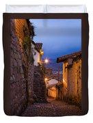Evening In Cusco  Duvet Cover