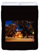 Evening In Small Town U. S. A. Duvet Cover