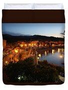Evening Light In Collioure Duvet Cover