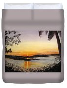 Evening Marsh Duvet Cover