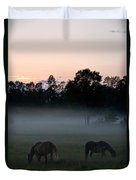 Evening Mist Duvet Cover