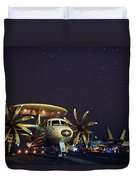 Evening On The Carrier Duvet Cover by Mountain Dreams