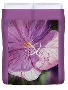 Evening Primrose Flower Duvet Cover