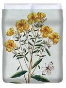 Evening Primrose Duvet Cover