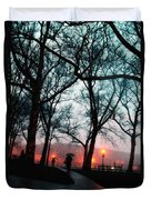 Evening Rain Photofresco Duvet Cover