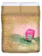Evening Rosebud Duvet Cover
