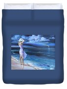 Evening Song Duvet Cover
