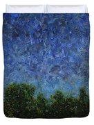 Evening Star - Square Duvet Cover