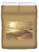 Evening Sun Hive Beach Three Duvet Cover