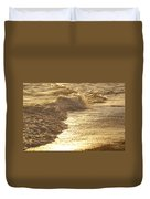Evening Sun Hive Beach Two Duvet Cover